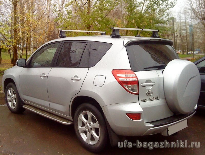 багажник на крышу toyota rav4 2007