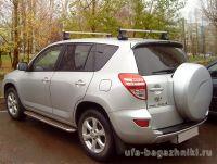 Багажник на крышу Toyota RAV4, Атлант, прямоугольные дуги
