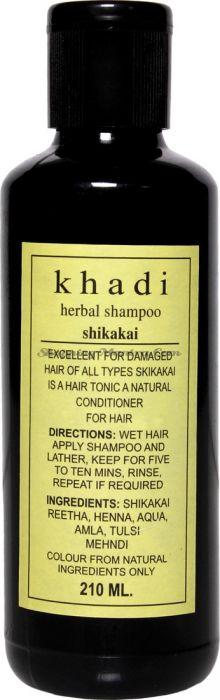 Шампунь против выпадения волос Кхади Шикакай / Khadi Herbal Shikakai Shampoo