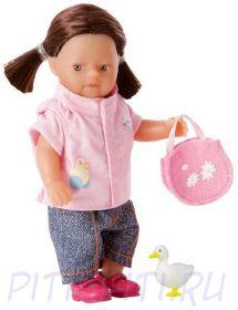 """Zapf Creation. My mini BABY born. Кукла """"Девочка и животное на ферме"""""""