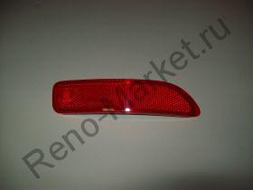 Катафот заднего бампера правый Renault оригинал 8200751778