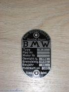 Табличка BMW R-3