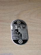 Табличка BMW R-4