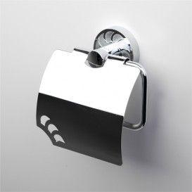 WasserKRAFT К-4025 Держатель туалетной бумаги с крышкой   Серия Isen К-4000 Размер:  15x13x6