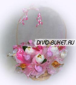 """Букет из конфет №163 """"Остров бабочек"""""""