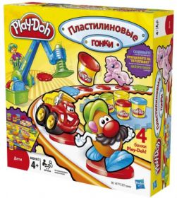 Набор игровой Пластилиновые гонки, PLAY-DOH
