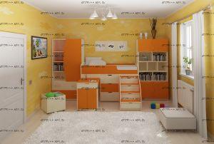 Детская комната Малыш №1