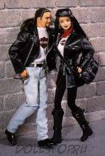 Коллекционная кукла Кен Харлей Дэвидсон Harley-Davidson Ken Doll #1