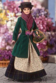 "Коллекционная кукла Барби как  Элиза Дулиттел в ""Моя прекрасная леди"" - Barbie Doll as Eliza Doolittle from My Fair Lady as the Flower Girl"
