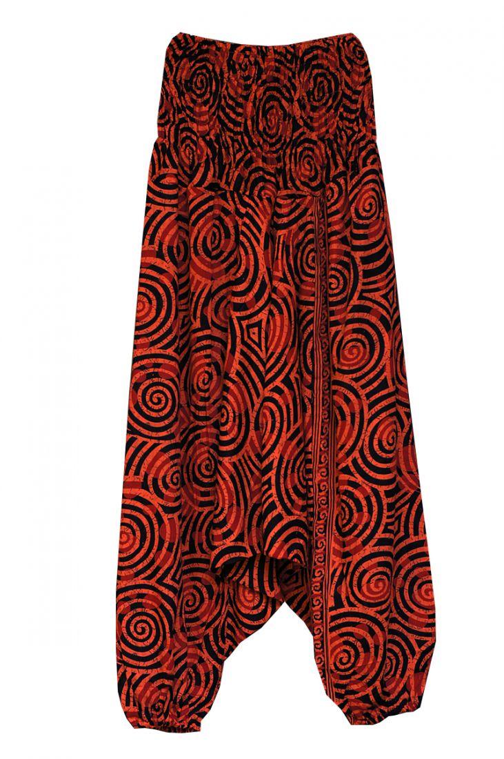 Женские штаны алладины со спиральками (отправка из Индии)