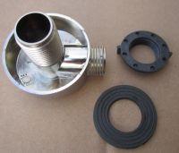 Уголок подвода воды хром