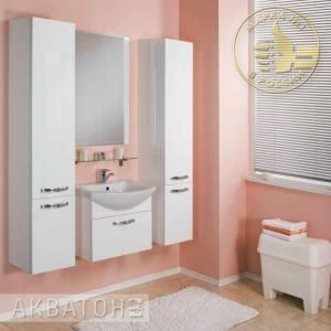 Мебель для ванной комнаты Акватон Ария 65 белая