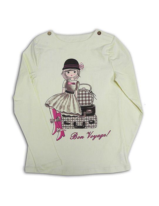 Блуза для девочки Бон Вояж