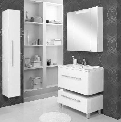 Мебель для ванной комнаты Акватон Мадрид 80 М