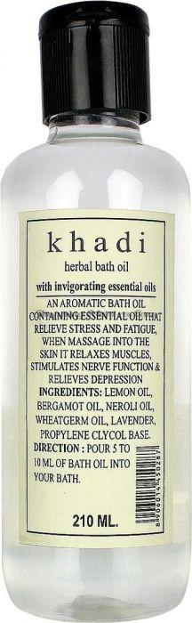 Масло для ванны на натуральных травах с эфирными маслами (Khadi Bath Oil with Essential Oils)