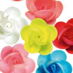 Вафельный цветок ПИОНЫ сложные 3,5см 5шт/уп
