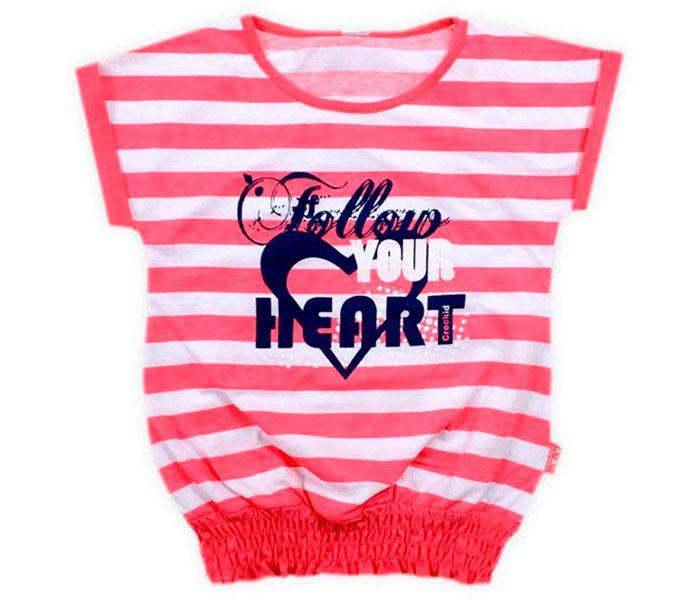 Блуза для девочки Твоё сердце