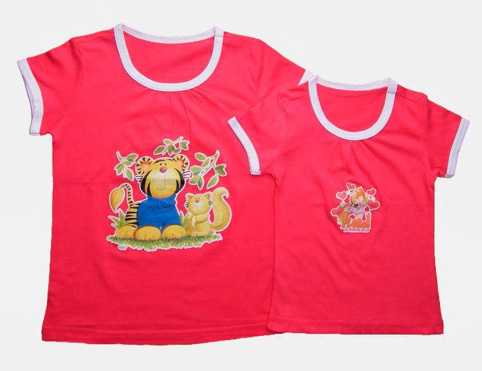 Блуза для девочки Тигрёнок
