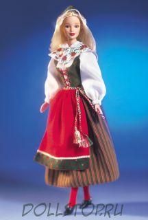 Коллекционная кукла  Барби как Шведка - Swedish Barbie Doll