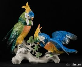 Попугаи Какаду, Karl Ens, Германия
