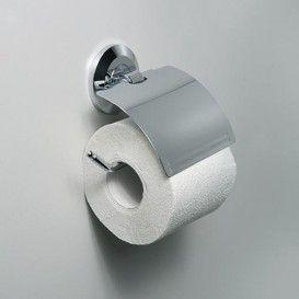 Держатель туалетной бумаги с крышкой WasserKraft Серия Rhein К-6200