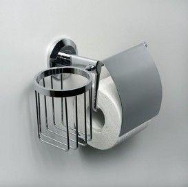Держатель туалетной бумаги и освежителя WasserKraft Серия Rhein К-6200