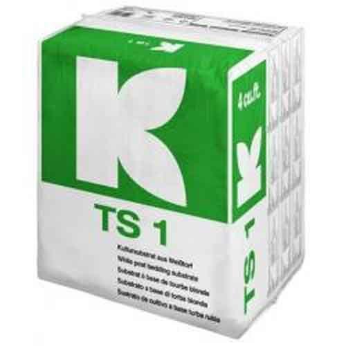 """Торфяной субстрат """"Klasmann TS1""""(рец.419) с перлитом 1л  (ручная фасовка)"""