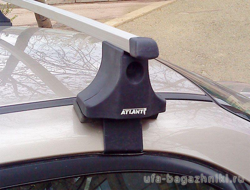 Багажник на крышу на Suzuki Liana sedan (Атлант, Россия), прямоугольные дуги