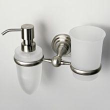 Держатель стакана и дозатора  WasserKraft Серия Ammer К-7000