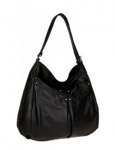 Чёрная повседневная сумка