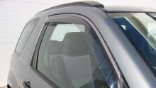 Ветровики передних окон, Egr, светлодымчатые, на 3дв. кузов