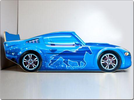 Кровать машина «Мустанг Синяя»