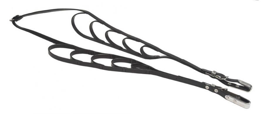 Поводья кожаные с петлями для седел ZILCO
