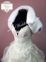 свадебные болеро из норки фото