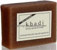 Khadi Woody Sandal&Honey Soap