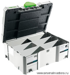 Контейнер  T-Loc Systainer для хранения дюбелей FESTOOL  DOMINO XL 498889