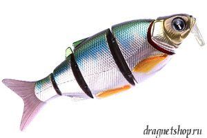 Воблер IZUMI Shad Alive Diver WITH LIP 105 SD, 22 гр, 105 мм, Floating