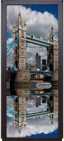 Наклейка на дверь - Лондонский мост | магазин Интерьерные наклейки