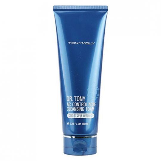 Dr. Tony AC Control Acne Cleasing Form - Очищающая пенка против акне, 150 мл