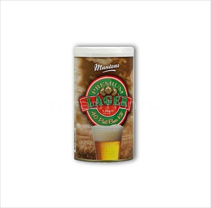 Пивная смесь Muntons Lager 1,5 кг