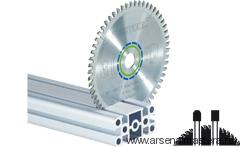 Диск пильный FESTOOL  специальный для алюминия/композитов HW 260x2,4x30 TF 68