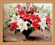 """Картина по номерам """"Лилейный шик"""" 40х50"""