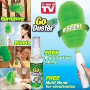 Щетка-сметка, чудо метелка от пыли Go Duster (Гоу Дастер)