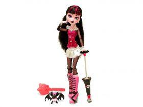 Кукла Дракулаура (Draculaura), базовая с питомцем, MONSTER HIGH