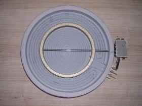 Эл_Конфорка (стеклокерамика) 2100/700 W,d=230, с расшир.зоной