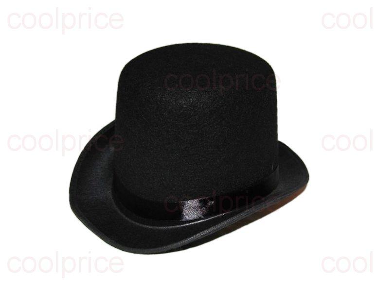Шляпа-цилиндр, чёрная