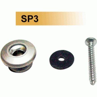 Dr.PARTS SP3/CR Крепление для ремня, хром