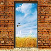 Наклейка на дверь - Житница | магазин Интерьерные наклейки