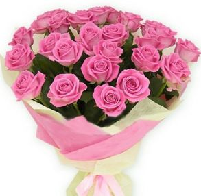 Розовый букетик