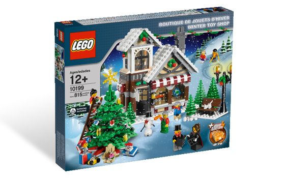 Рождественский магазин игрушек. ЛЕГО 10199